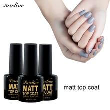 Saroline Professional Art Nail Matt Matte Top Coat Nail Gel Polish Tips Dull Finish Long Lasting Top Coat Gel Lacquer soak off