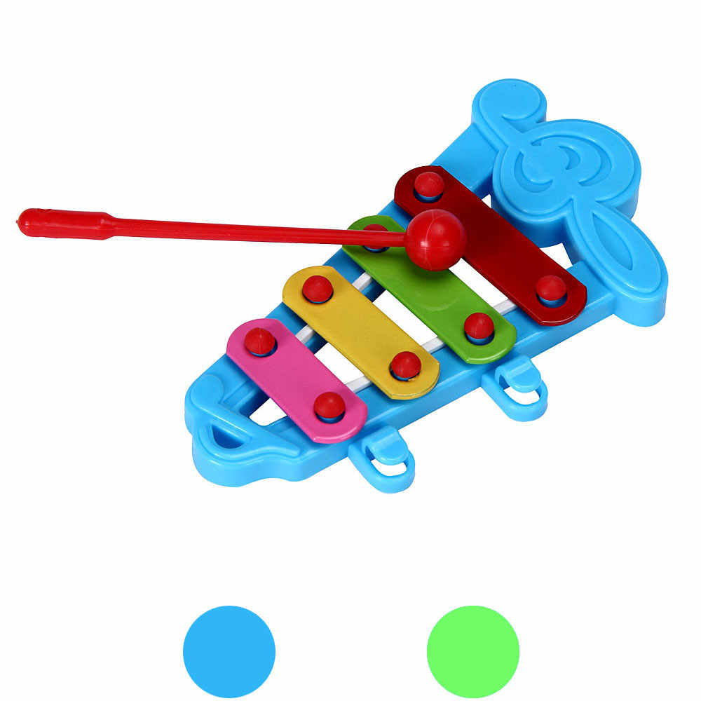 Baby Kids 4-Note Xylophone Funny Musical Toys Wisdom Developmental Toys Early Educational Toys For Children