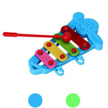 Baby Kids 4-Note Xylophone Funny Musical Toys Wisdom Developmental Toys Early Educational Toys For Children(China)