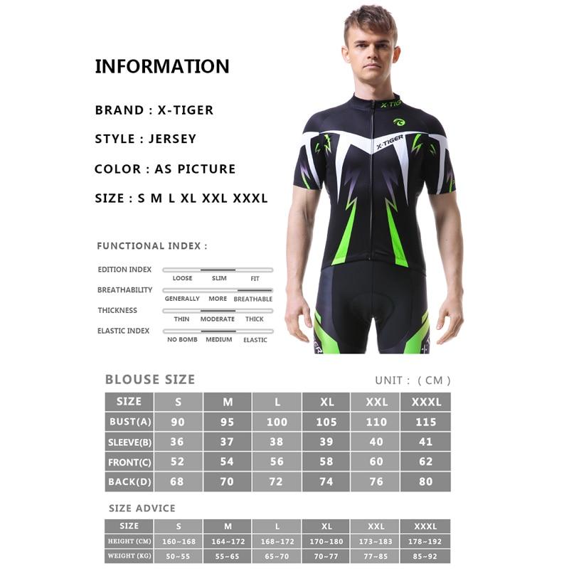 X-TIGER Ljetna biciklistička majica Odjeća za planinarske bicikle - Biciklizam - Foto 2