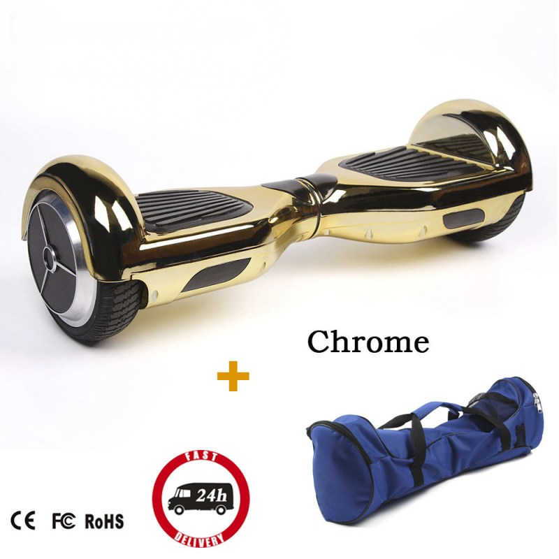 Giroskuter Two Wheels Smart Scooter Hoverboards Chrome Hoverboard Electric Scooter 2 Wheels Electric Scooter Hover Boards app controls hoverboard new upgrade two wheels hover board 6 5 inch mini safety smart balance electric scooter skateboard