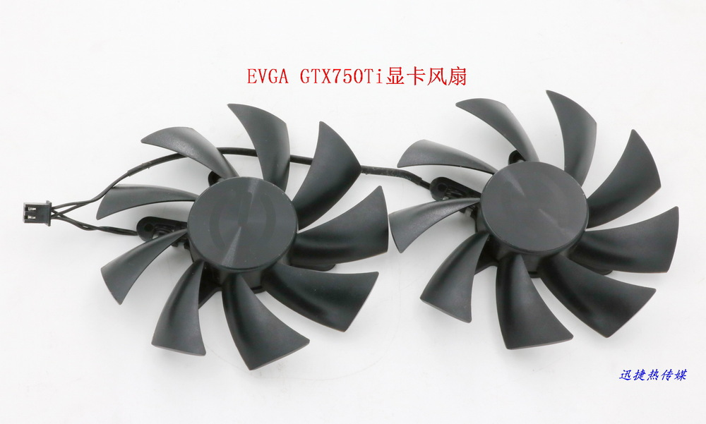 New Original for Power Logic PLA09215B12H 12V 0.55A EVGA GTX750Ti graphics card cooling fan free shipping power logic pld10010s12m 12v 0 20a 95mm for gigybyte gvn550wf2 n56goc r667d3 r777oc graphics card cooling fan 2pin