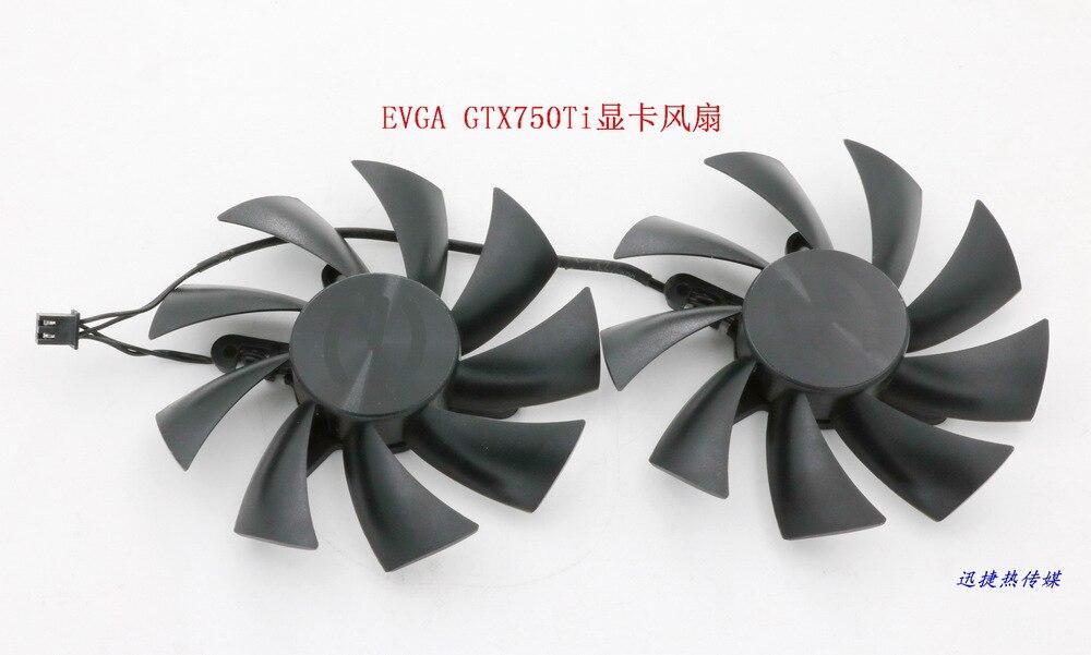 New Original for Power Logic PLA09215B12H 12V 0.55A EVGA GTX750Ti graphics card cooling fan