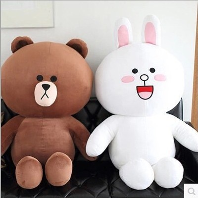 50cm San-x Rilakkuma Relax Bear Lovely Stuffed Toys Cute Soft Pillow Plush Toy Doll Girlfriend a birthday present kids toys gift beluga foam particles stuffed toy doll cute cartoon children s toys to give his girlfriend a gift plush doll