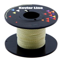 Yellow Braided Line for Fishing 100ft 150lb Kevlar Kite Line String for Stunt Kite Flying Outdoor Utility Cord Paracord