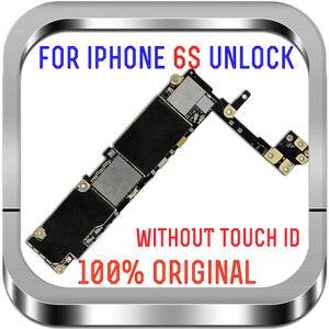 Image 4 - Tam cips unlocked 16GB 32GB 64GB 128GB iphone 6S anakart olmadan parmak izi iphone 6S anakart