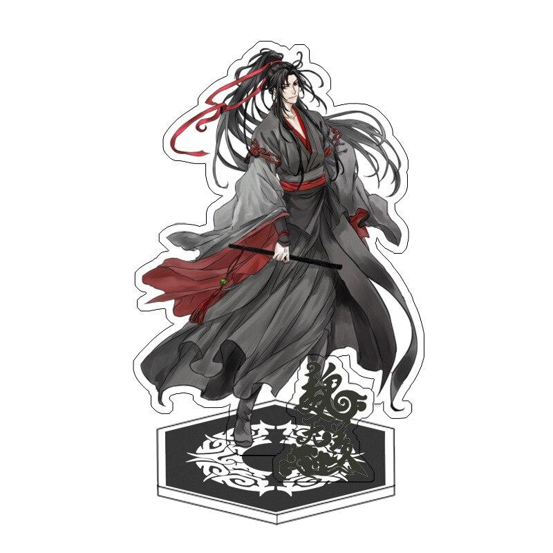 Anime Mo Dao Zu Shi Display Stand Figure Model Plate Holder Japanese Cartoon Figure Acrylic Collection Jewelry Christmas Gift