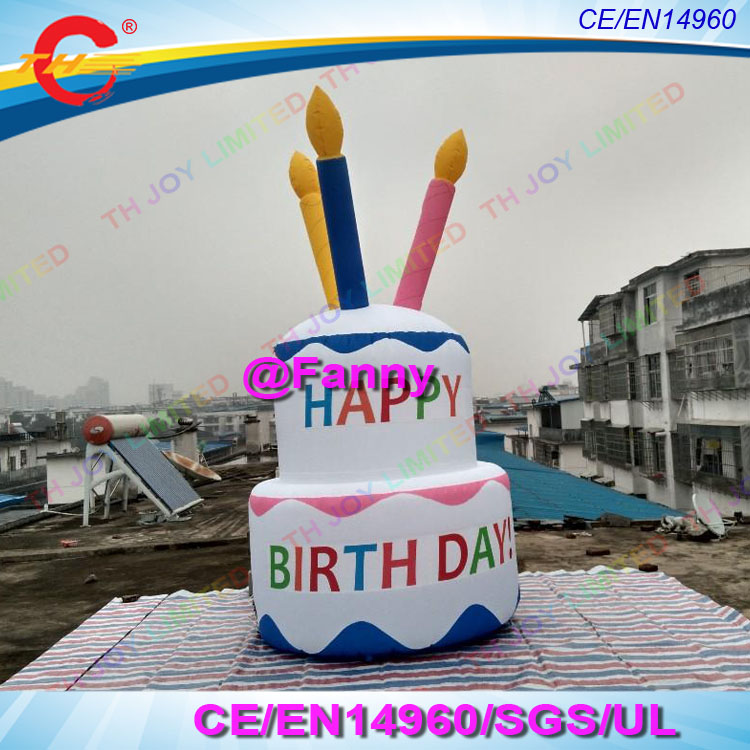 Free Air Ship To Door,outdoor Happy Birthday Cake Giant