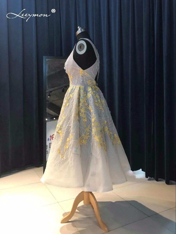 Novi vrući seksi Crystal koktel haljina 2017 Backless čipka kratki - Haljina za posebne prigode - Foto 5