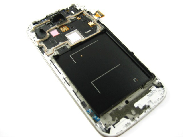 Replacement Full Amoled LCD Display + Touch Screen Digitizer + Frame for Samsung Galaxy S4 IV GT-i9505 i9505 White