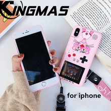 36 game Full Color Game Display phone case for iPhone 7 8 Plus cover retro iPhone6 6S plus X XS XR MAX