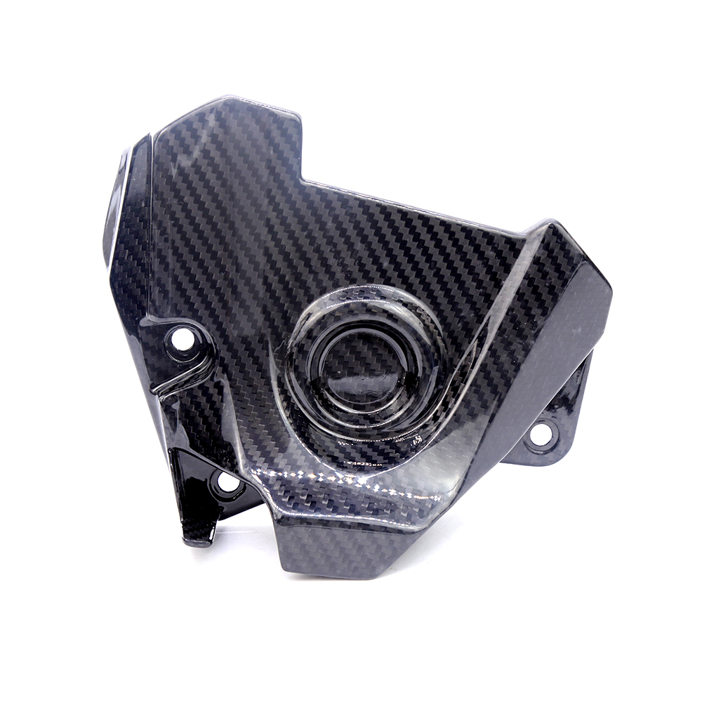 For Yamaha MT09 FZ09 Tracer FJ09 2014-2017 Motorcycle Accessories Carbon Fiber Engine Sprocket Chain Case Cover Clutch Cover sep motorcycle accessories carbon fiber engine sprocket chain case cover clutch cover for yamaha mt09 fz09 tracer fj09 2014 2017