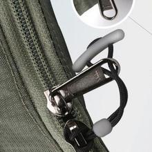 5 sztuk Anti-theft Cord Zipper Pull Strap lasso akcesoria odzieżowe plecak pasek torby akcesoria do toreb tanie tanio Nylon V2V52*5 ISKYBOB Anti-theft backpack Bag Accessories 5pcs