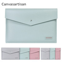 2017 Newest Brand Canvasartisan PU Leather Sleeve Case For MacBook Air 13 Retina 13 3 15
