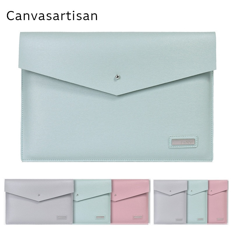 2019 New Brand Canvasartisan PU Leather Sleeve Case For MacBook Air 13