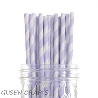 500PCS Lot Chevron Striped Paper Drinking Straws Birthday Party Prom Bar Pub Supply
