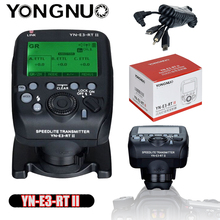 Yongnuo YN E3 RT ii ttl rádio flash gatilho speedlite transmissor controlador ST E3 RT para canon 600ex rt/yongnuo YN600EX RT ii