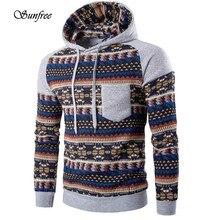 Sunfree 2016 New Hot Sale Men Retro Long Sleeve Hoodie Hooded Sweatshirt Tops Jacket Coat Outwear Brand New High Quality Dec 1