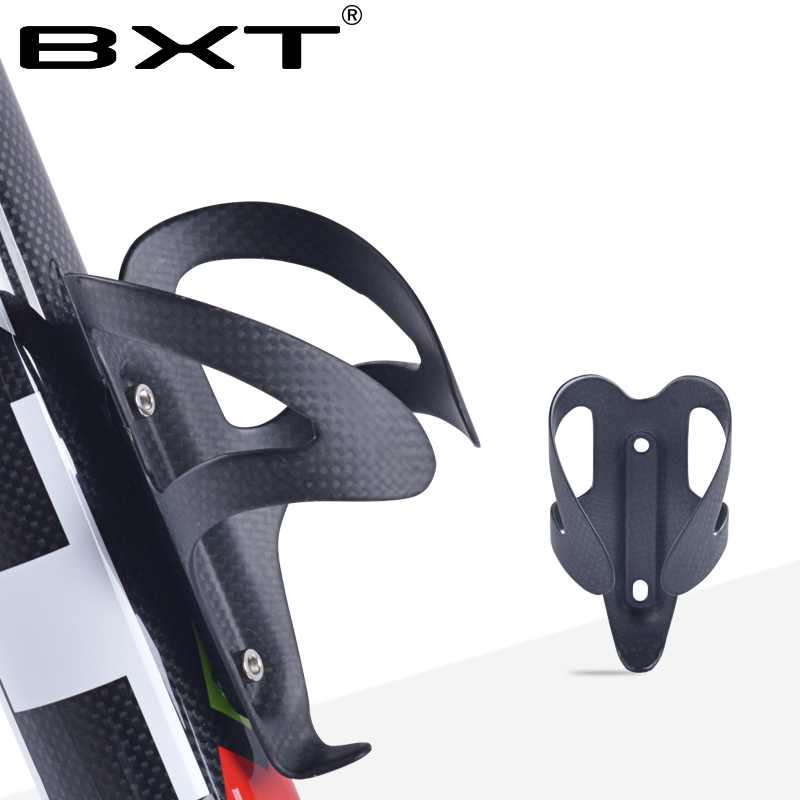 BXT Carbon Bottle Cage Bike Bottle Holder Ultra Light cycling water bottle cage cup holder mtb/road Bicycle Accessories/parts купить недорого в Москве