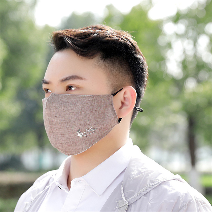 1pcs Kpop Fashion Rayon Dustproof Mouth Face Mask Breathable Cycling Mouth Mask For Men Blackpink Mask Summer Half Face Mask