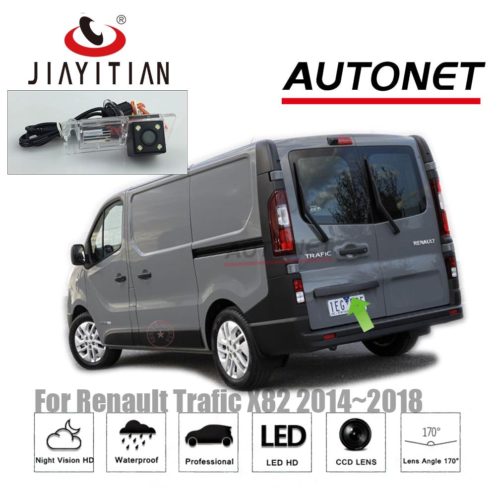 JIAYITIAN Rear View Camera For Renault Trafic X82 2014~2018 Van Combi CCD Night Vision/ License Plate Camera/Reverse Camera