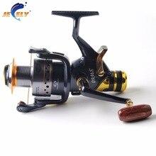 Free Shipping SW50/60 9BB+1RB Carp Fishing Reel Bait Runner Fishing Reel,Spinning Fishing Reel