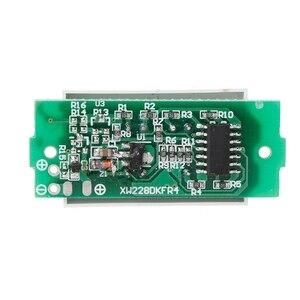 Image 5 - 1S singolo livello di potenza 3.7V batteria al litio capacità modulo indicatore Display blu