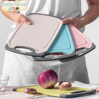 Mouldproof PP Cutting Board High quality chopping blocks vegetable fruite meat food classification food contact