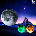 1 Piece Relaxing Healing Moon Light,Indoor LED Wall Moon Lamp With Remote Control,Novel Night Lamp in Retail Package