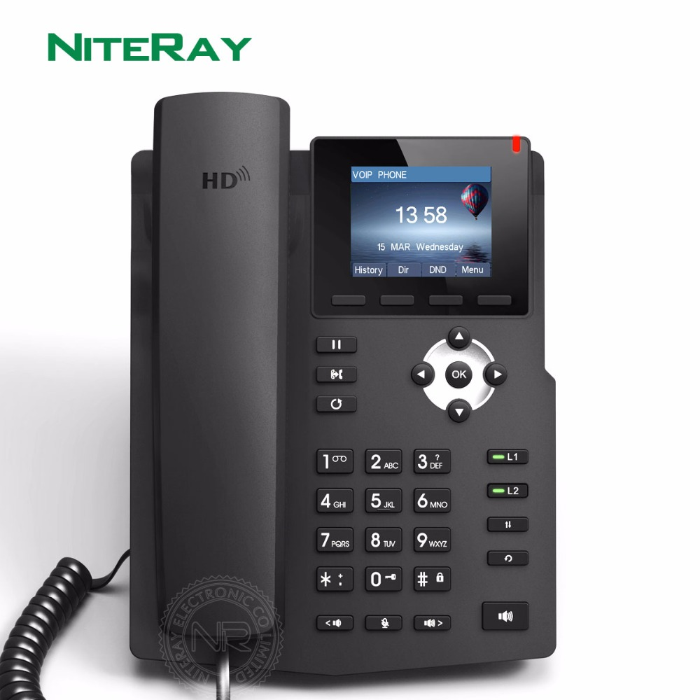 Telephone Accessories Ip Phone Voip PoE SIP Phone Stand Voip Intercom Telefone Sip Telephone Power 3