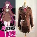 Anime DANGANRONPA Mikan Tsumiki school uniform Cosplay Costume custom-made