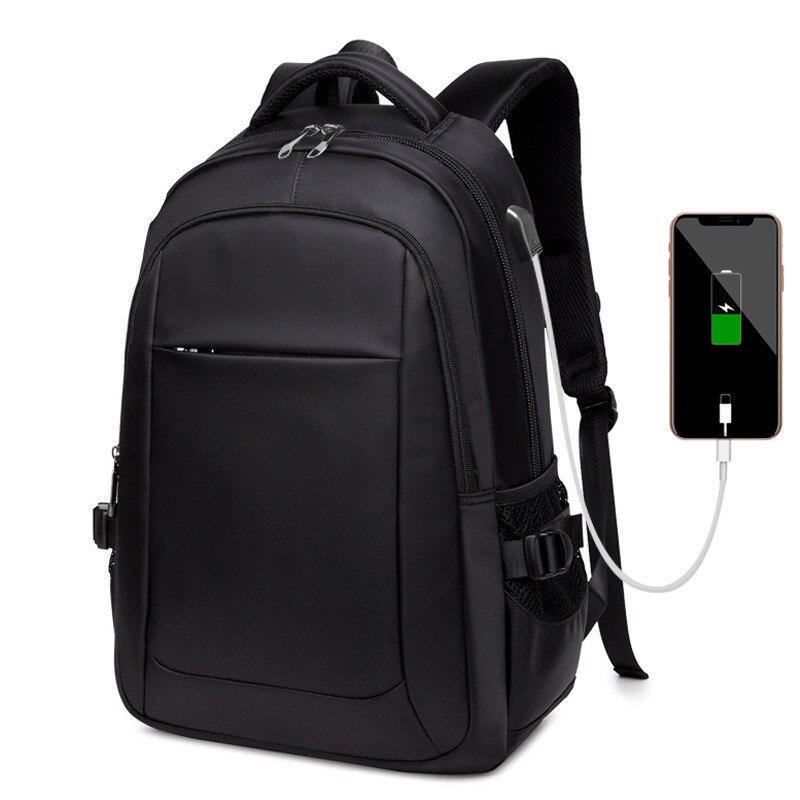 Fashion Unisex Backpack Woman Large Capacity Waterproof Nylon Men Backpack Travel Bag Laptop Backpack Usb Charge Back Packs
