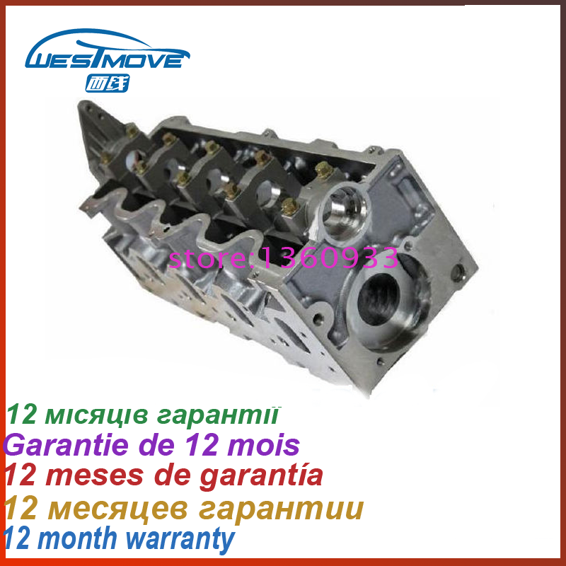 cylinder head for Fiat Brava Bravo Marea Doblo Multipla Punto Marengo Stilo 1910CC 1.9 JTD 8V 1999- ENGINE: 182B9.000 192A3.000 turbo cartridge chra for alfa romeo 147 for fiat doblo bravo multipla 1 9l m724 gt1444 708847 708847 5002s 46756155 turbocharger