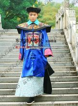 Ancient Chinese Hanfu Male Costume Qing Dynasty Court Officer Prince or Soldier Costume V&ire Costume for  sc 1 st  AliExpress.com & Buy chinese vampire costume and get free shipping on AliExpress.com