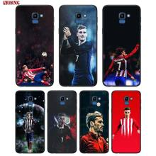 Black Silicon Phone Case Antoine Griezmann For Samsung Galaxy j8 j7 j6 j5 j4 j3 Plus Prime 2018 2017 2016 Cover