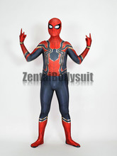 Spider-Man Homecoming Suit Captain America Civil War Spiderman Cosplay Costumes