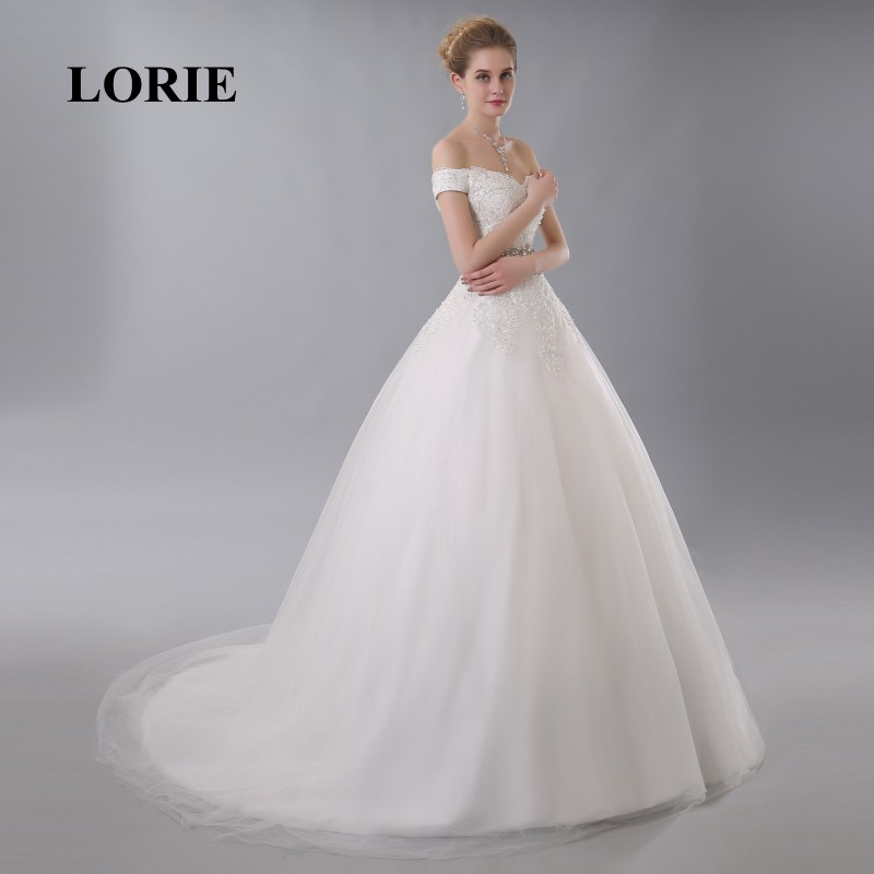 LORIE Wedding Dress Online shop china Appliques Customized Free ...