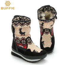 Hot selling lady winter snow boots thick plush fur winter warm boots female girl snow boots women shoes fashion Brand Boots free