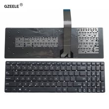 Новая английская клавиатура gzeele для ноутбука asus k55a k55vd