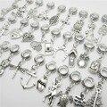 WYSIWYG Misturar diferentes 30 pcs prata bead fit Pandora charm bracelet DIY dangle animal encantos pingentes para fazer jóias