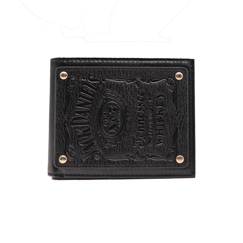 Jack Daniel's Black Whiskey Billfold Wallet (3)