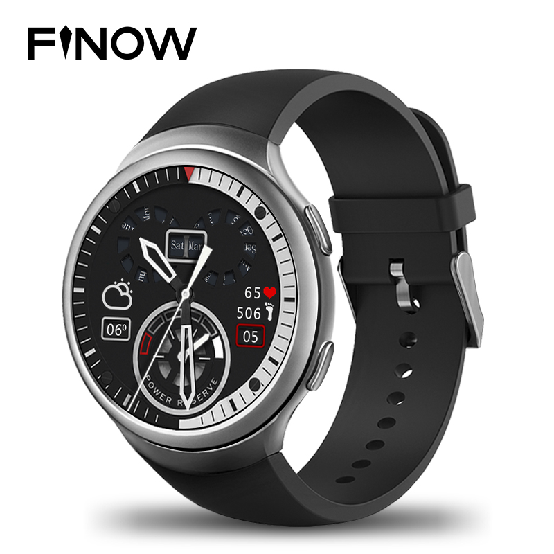 Finow X3 plus Smart Watch K9 MTK6580 Andorid 5.1 1G/8G Pedometer Fitness Tracker BT 3G Wifi Wearable Devices Smartwatches Phone