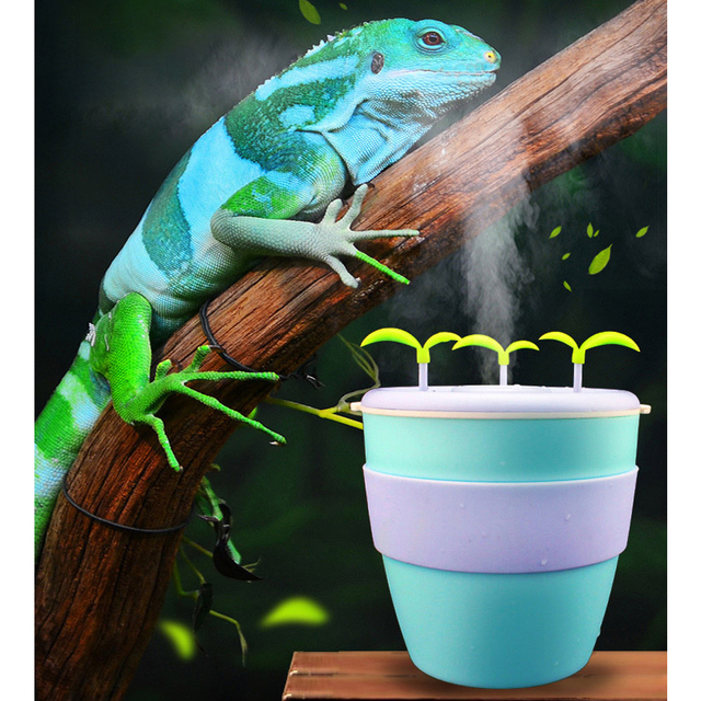 Pet Humidifier Moisturizing Anion Atomizer For Potted Plant Reptile