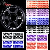 4 pçs ce28 volk corrida adesivo carro emblema da roda para raios rodas ce28 te37x ultra track edition decalques de estilo automático|Adesivos para carro| |  -