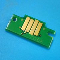 PFI-706 PFI 706 C M Y R BK MK 6 색 카트리지 칩 캐논 iPF8410se 프린터 잉크 호환 칩 쇼 잉크 수준