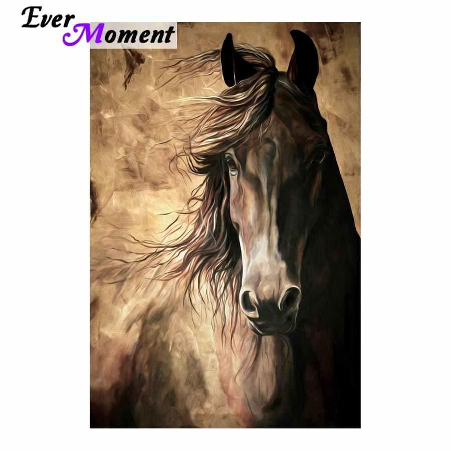 5D Full Drill Diamond Painting Art Craft Running Horse Kits Art Leisure
