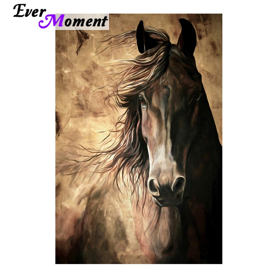 diamond painting full square horse painting rhinestones animal painting art 5d diamond embroidery painting supplies ASF696 ...