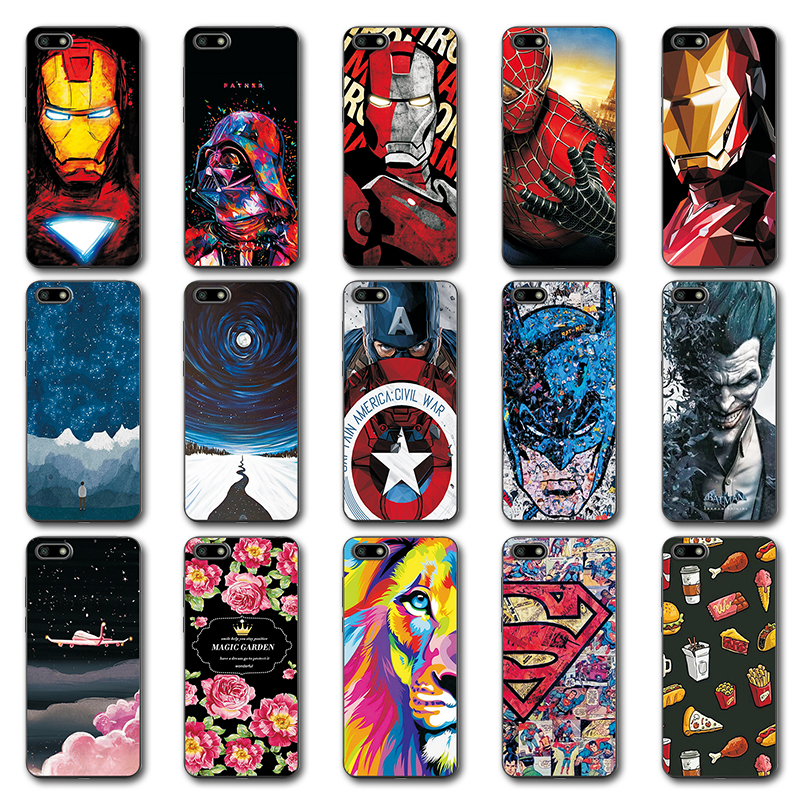 Cellphones & Telecommunications For Huawei Honor 10 Case Novelty Silicone Phone Case Cover For Huawei Honor 10 Cute Painted Back Covers Fundas On Honor 10 Capa Attractive Designs;