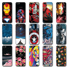 Novelty Phone Bags For Huawei Honor 7A Case Honor 7A Iron Man Painted Silicone Case Cover For Huawei Honor 7A DUA-L22 5.45""
