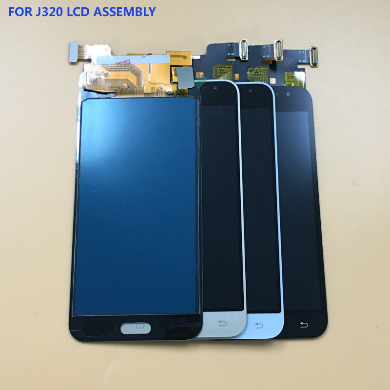 For Samsung Galaxy J3 2016 j320 J320A J320F J320M J320FN J320H Touch Screen Digitizer Sensor + LCD Display Monitor Assembly